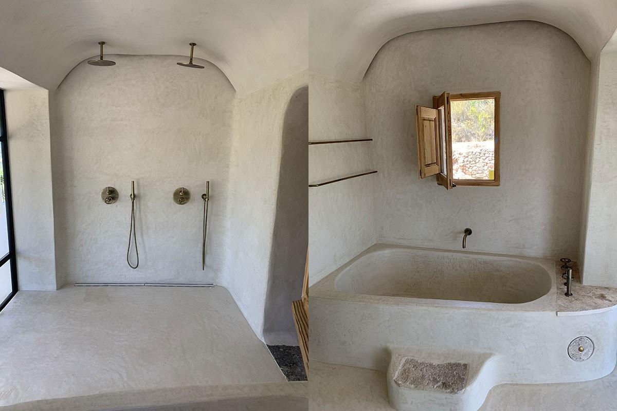 Baño. Bañera y ducha`