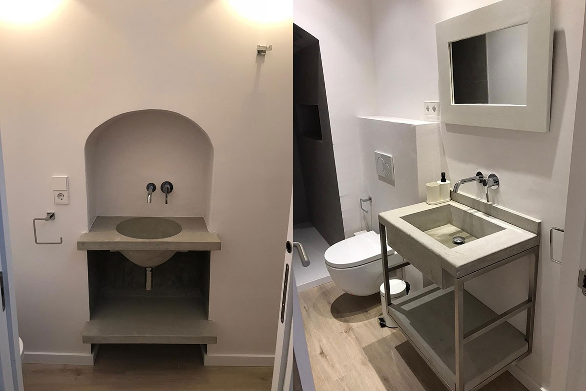 Apartamento después de la reforma. Baño`