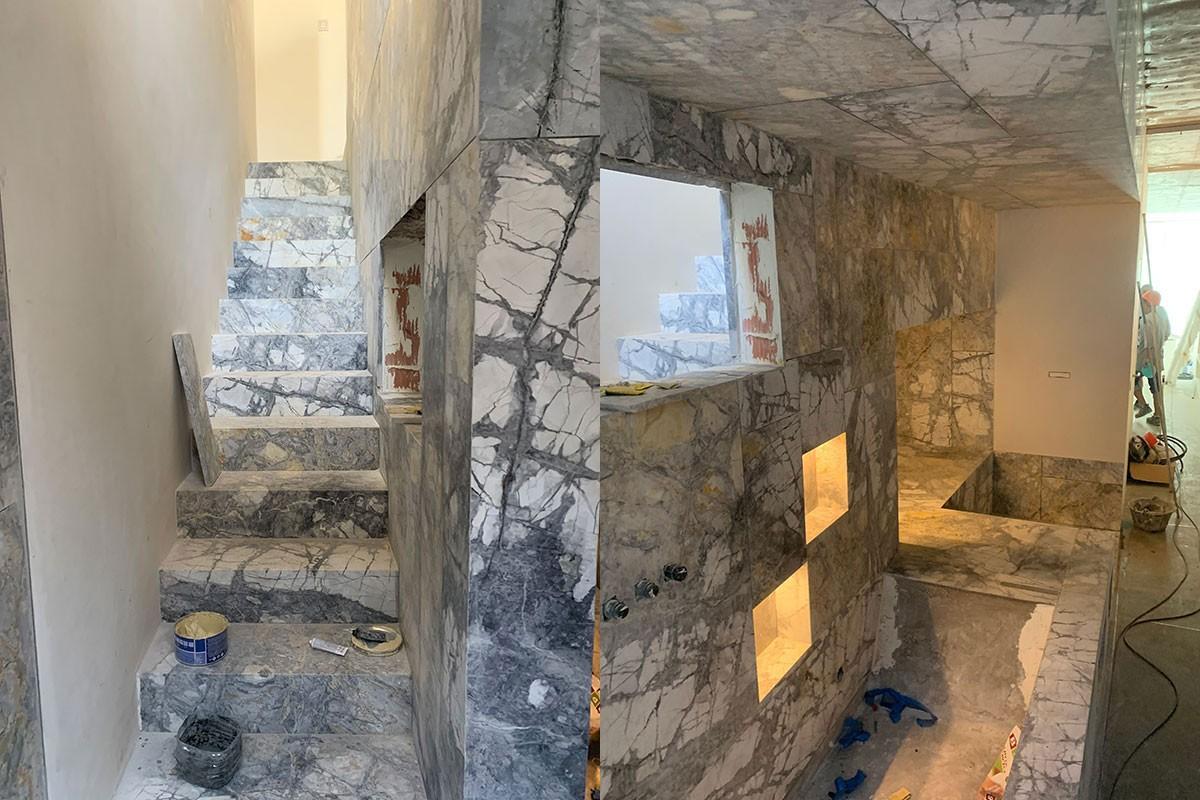 Acabados en marmol`